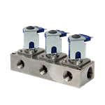 "Solenoid DEMA 3 Station 1/2"" Stainless"