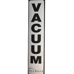 Decal Vacuum Cannister - Black/White
