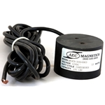 Magnet 12VDC 370Lbs 3.0DIA 15' Leads