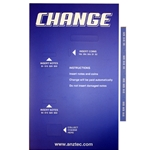 Decal for Change machine 5604