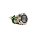 QC595X Push Button Green With Connector
