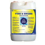 SuperSat Tyre & Engine Bright Yellow Evergreen Fragrance 6 Gal