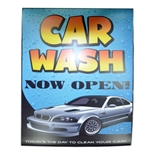 "Windmaster Sign Insert ""Car Wash Open"""