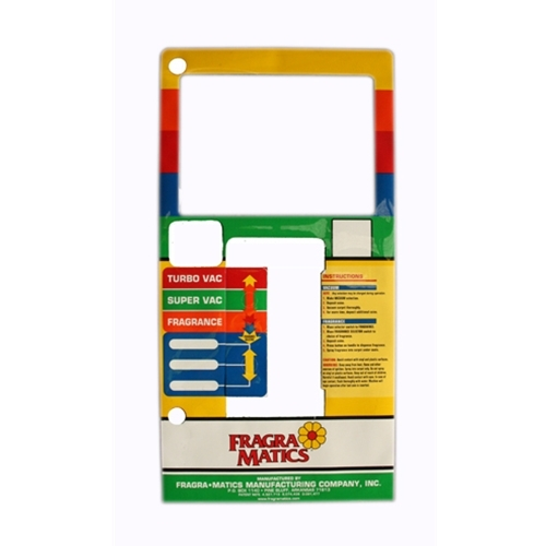 Decal Fragramatics Vac/Fragrance Door