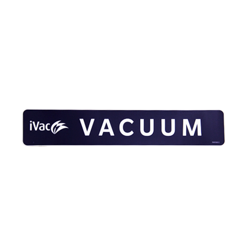 Prowash iVac Vacuum (Dome) Dark Blue Decal