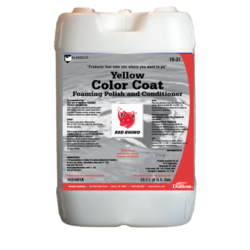 Red Rhino Colour Coat 6 Gal - Yellow