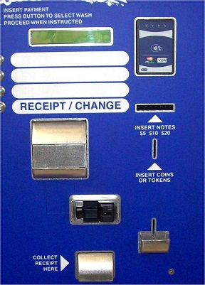 Door mounted Insertion and Contactless reader image