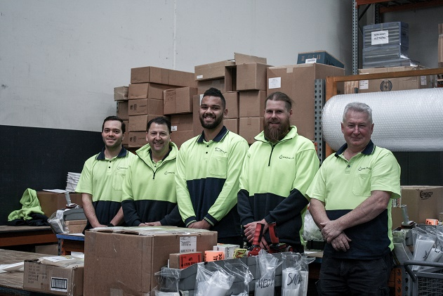 Warehouse Team Photo